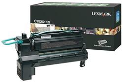 Tonercartridge Lexmark C792X1KG prebate zwart HC