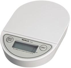 Briefweger Maul Oval 16220 op batterij tot 2000gram wit