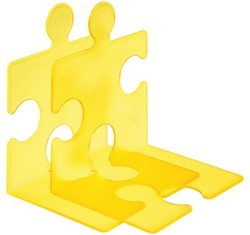 Boekensteun Han 9212 Puzzle Signal geel