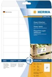 Etiket Herma 10903 63.5x29.6mm extra sterk wit 675stuks