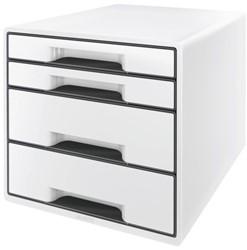 Ladenblok Leitz 5252 Cube 4 laden wit
