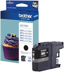Inktcartridge Brother LC-123BK zwart
