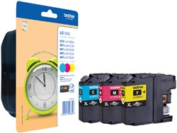 Inktcartridge Brother LC-125XLRBWBP 3 kleuren