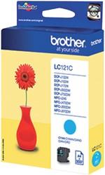 Inktcartridge Brother LC-121C blauw
