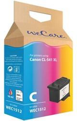 Inkcartridge Wecare Canon CL-541XL kleur HC