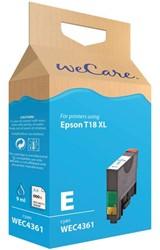 Inkcartridge Wecare Epson T181240 blauw HC