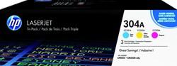 Tonercartridge HP CF372AM 304A 3 kleuren