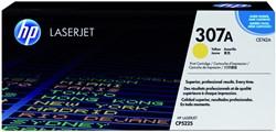 Tonercartridge HP CE742A 307A geel