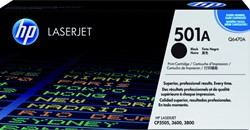 Tonercartridge HP Q6470A 501A zwart