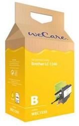 Inktcartridge Wecare Brother LC-1240 geel