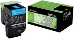 Tonercartridge Lexmark 70C20C0 prebate blauw