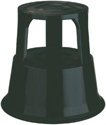 Opstapkruk Desq 42cm metaal zwart