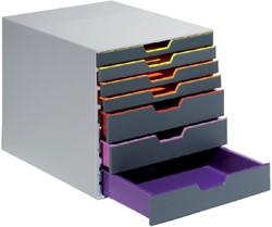 Ladenbox Durable Varicolor 7 laden grijs