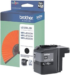 Inkcartridge Brother LC-129XLBK zwart HC