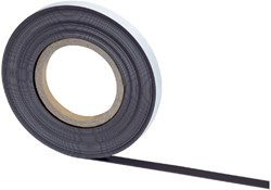 Magneetband MAUL 10mx10mmx1mm zelfklevend