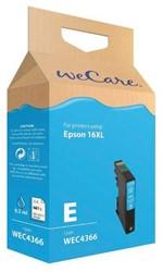 Inkcartridge Wecare Epson T163240 blauw HC