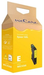 Inkcartridge Wecare Epson T163440 geel HC