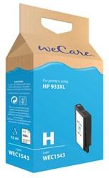 Inkcartridge Wecare HP CN054AE 933XL blauw HC