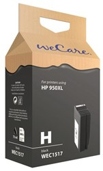Inkcartridge Wecare HP CN045AE 950XL zwart HC