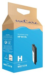 Inkcartridge Wecare HP CN046AE 951XL blauw HC
