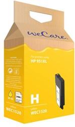 Inkcartridge Wecare HP CN048AE 951XL geel HC