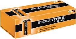 Batterij Industrial 9Volt alkaline doos à 10 stuks