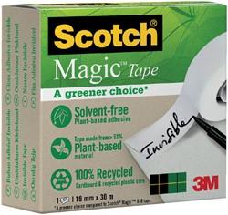 Plakband Scotch Magic 900 19mmx30m onzichtbaar mat