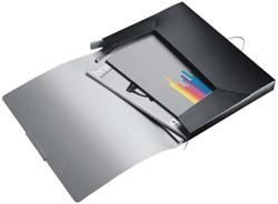 Documentenbox  Leitz Style 30mm satijnzwart