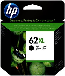 Inktcartridge HP C2P05AE 62XL zwart HC