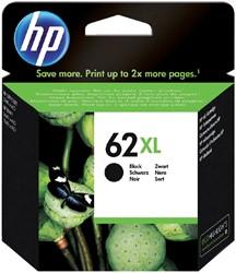 Inkcartridge HP C2P05AE 62XL zwart HC