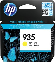 Inktcartridge HP C2P22AE 935 geel