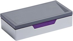 Transportbox Durable Varicolor  Job case grijs/paars