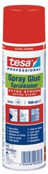 Lijm Tesa spray permanent extra strong 500ml