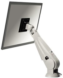 "LCD flatscreenarm Newstar D200 10-24"" doorvoer creme"