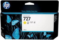 Inktcartridge HP B3P21A 130ml 727 geel