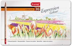 Kleurpotloden Bruynzeel Expression 7705 ass  blik à 36 stuks