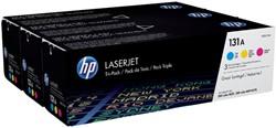 Tonercartridge HP U0SL1AM 131A 3 kleuren