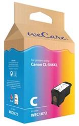Inkcartridge Wecare Canon CL-546XL kleur