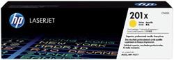 Tonercartridge HP CF402X 201X geel HC