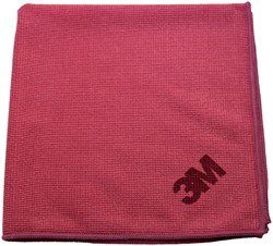 Microvezeldoek 3M Scotch Brite Essential rood