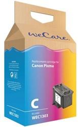 Inkcartridge Wecare Canon CL-513 kleur