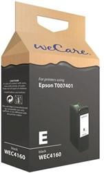 Inkcartridge Wecare Epson T007401 zwart