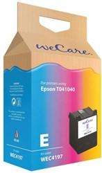 Inkcartridge Wecare Epson T040140 kleur