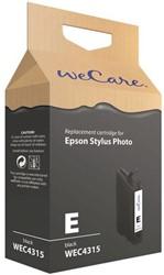 Inkcartridge Wecare Epson T048140 zwart