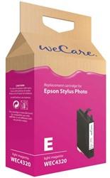 Inkcartridge Wecare Epson T048640 lichtrood