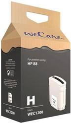 Inkcartridge Wecare HP C9396AE 88XL zwart HC