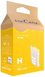 Inkcartridge Wecare HP C9393AE 88XL geel HC