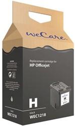 Inkcartridge Wecare HP CC654AE 901XL zwart HC