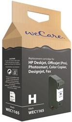 Inkcartridge Wecare HP 51645A 45 zwart