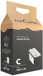Inkcartridge Wecare Canon PG-40 zwart
